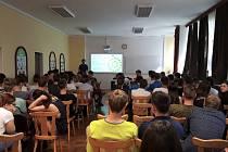 Odborný seminář na Střední průmyslové škole stavební v Ostravě.