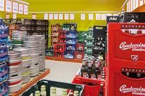Pestrá nabídka nápojového centra Terno v Bechyni