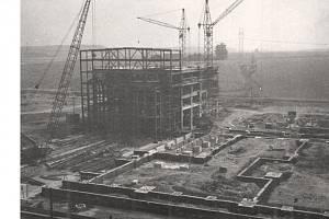 Stavba varny, rok 1967
