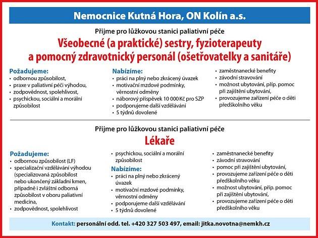 Nemocnice Kutná Hora, ON Kolín a.s.