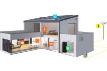 Domácí bateriové úložiště pro soběstačný dům