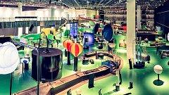 Expozice VIDA! science centra má bezmála 4600m2 a najdete v ní přes 170 interaktivních exponátů