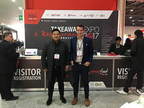 Thanh Chau a Richard Halazňa.