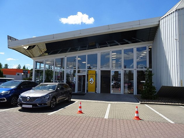 Autosalon Louda Auto a.s. v Ústí nad Labem