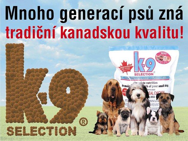 Právě teď má váš pes možnost vyzkoušet krmivo K-9 ve velkorysé kanadské akci.