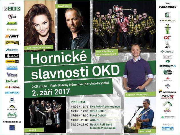 Hornické slavnosti 2017.