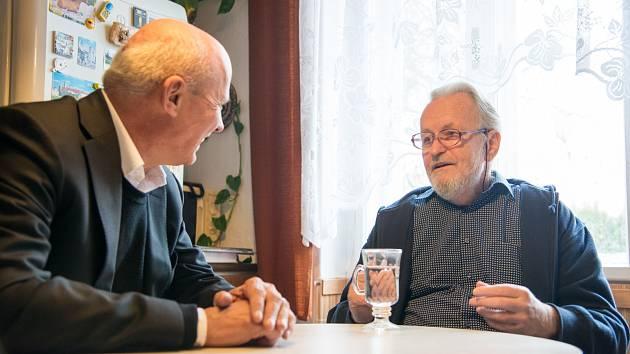 Michal Horáček a Tomáš Hradílek