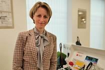 Hematoložka odběrového centra sanaplasma Alice Drábková.