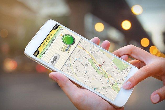 Mobilní aplikace AAA Taxi pro Android a iOS.