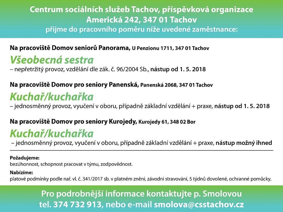 Centrum sociálních služeb Tachov, p.o.