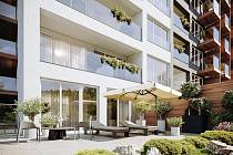 View Spořilov Praha 4 - Záběhlice. Moderní byty s francouzskými okny a podlahovým vytápěním. Developer GARTAL