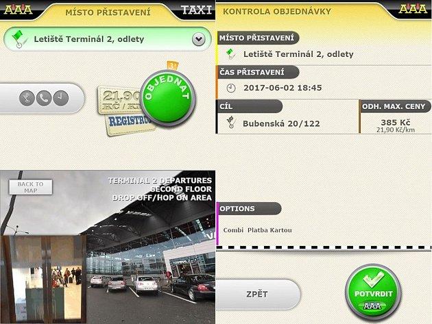 Mobilní aplikace pro Android a iOS nabízí výhodnou sazbu 21,90 Kč/km