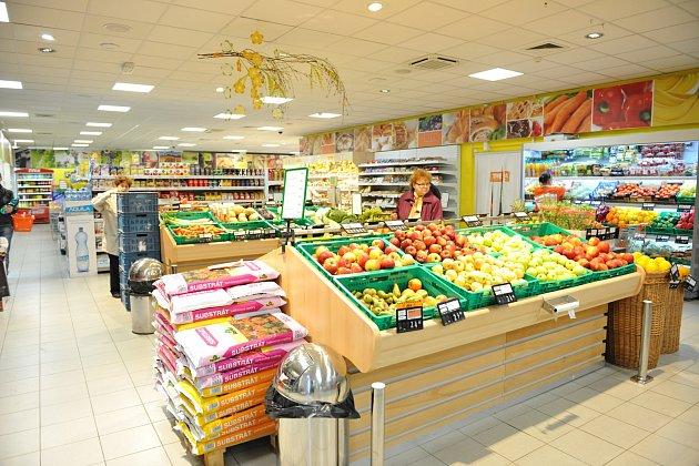 Nový úsek s rozšířenou nabídkou čerstvého ovoce a zeleniny