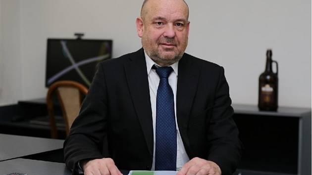 Ředitel pivovaru Holba Vladimír Zíka.