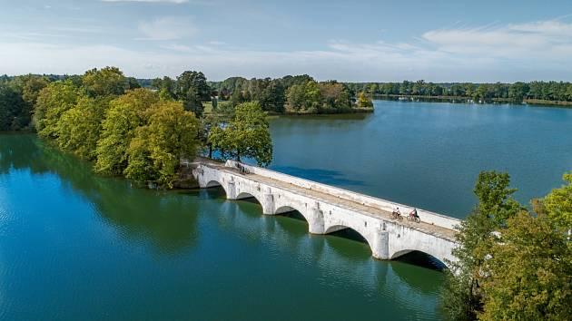 Třeboňsko - most přes rybník Vítek