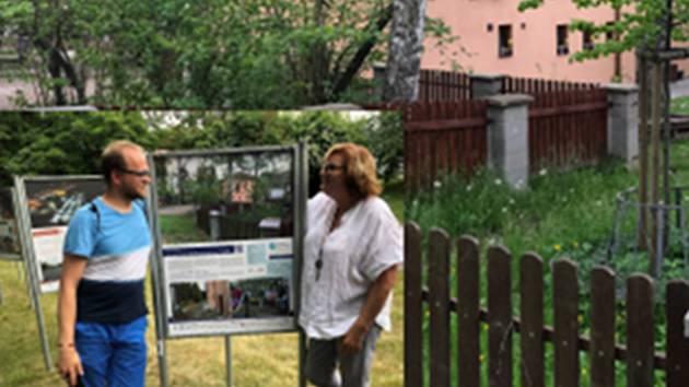 Přijďte na výstavu do mezigenerační  zahrady.