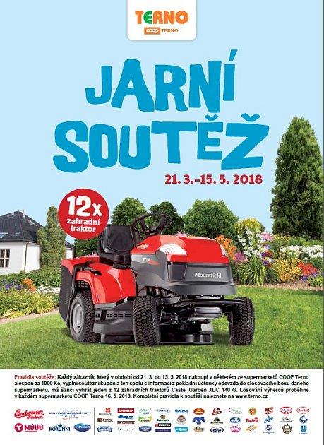 Zákazníci mohou vyhrát 12x zahradní traktor Mountfield