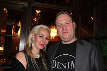 Muzikant Jeroen Smit se svou ženou Andreou.