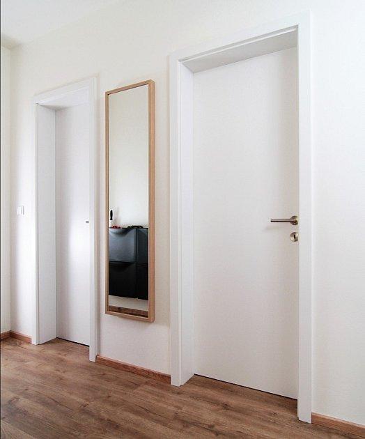 Dveře Primum P lakované hladké RAL 9003