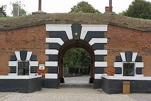 Vstupní brána Malé pevnosti.