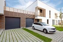 Moderní garážová vrata pro domácnosti – hlavní produkt firmy TRIDO.