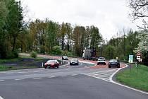 Silnice č. 6 a sjezd od golfu a Olšových Vrat na Karlovy Vary. Za poslední dva roky zde bylo 20 nehod a 14 zranění.