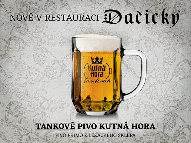 Tankové pivo Kutná Hora