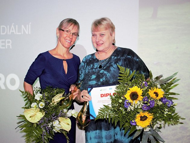 Ing.arch. Liana Janáčková spolu s Ing.arch. Ivou Seitzovou