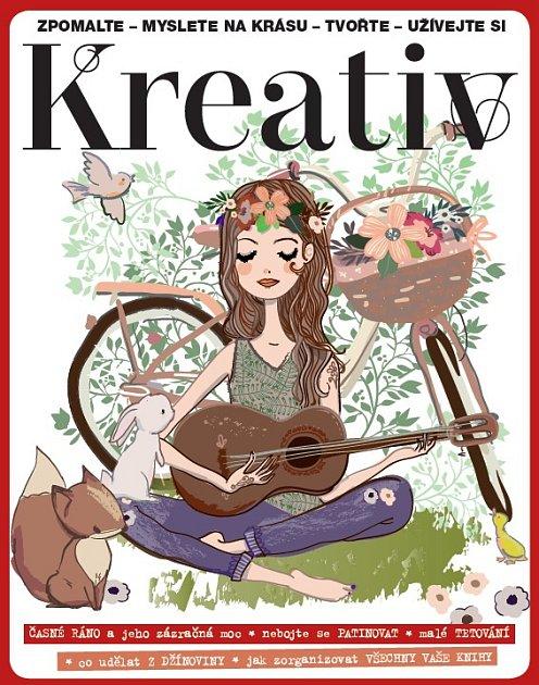 Podzimní vydání časopisu Kreativ.
