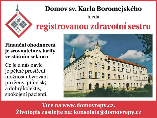 Domov sv. Karla Boromejského.