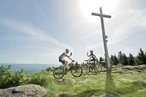 Bavorsko je také regionem pro nadšence horských kol.