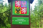 Chráněná krajinná oblast Brdy.