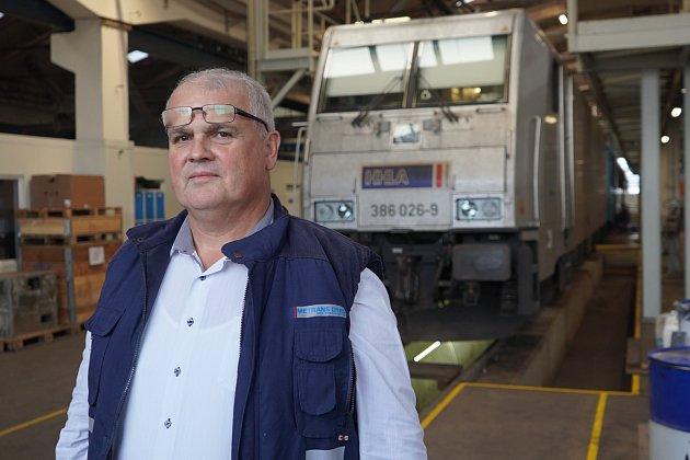 Petr Prchal – ředitel společnosti METRANS DYKO Rail Repair Shop s.r.o.