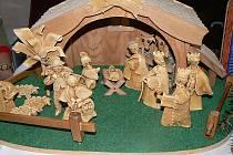 Betlém je k vidění ve skanzenu v Přerově nad Labem na Nymbursku. Z vizovického těsta ho vytvořila Marie Kotašková z jižních Čech, která má chalupu v Lysé nad Labem.