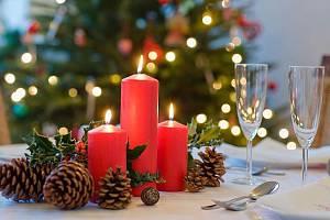 Vánoce v restauraci