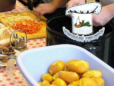 Přílohy: Bramborový salát