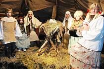 Živý betlém v Teplicích bude i letos.