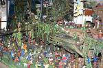 Blanensko - Pohyblivý betlém s 900 figurkami.