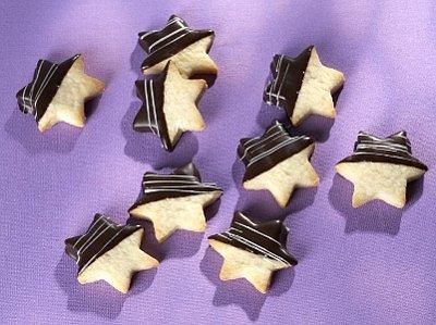 Hvězdičky s čokoládou