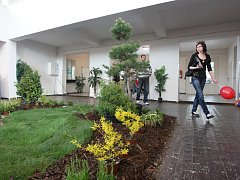 Veletrh Dům a zahrada na lounském výstavišti.