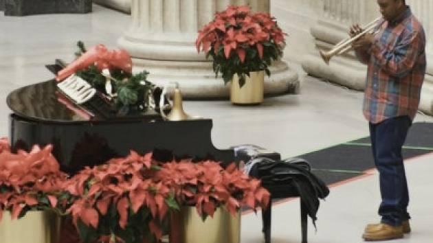 Klavír na nádraží