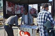 V petičním stánku na Palackého ulici podepsalo petici za obnovení práva na život od početí údajně 380 lidí.