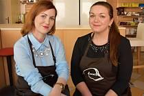 Veronika Rabštejnková a Štěpánka Hanzlíčková