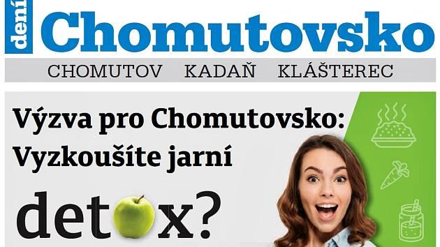 Týdeník Chomutovsko z 26. února 2019