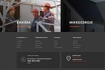 Nový web ČEZ Distribuce.