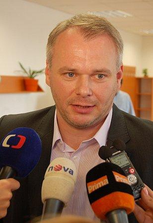 Marek Hrabáč, první náměstek primátora a velitel městské policie.