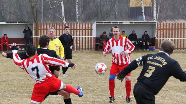 Z fotbalového utkání Otvice - Kovářská