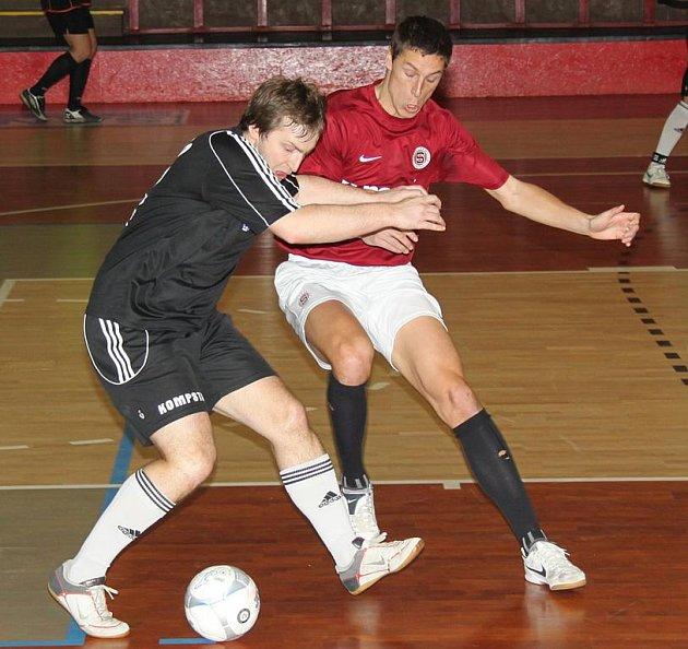 Snímek z utkání L.A. Interiér - Sparta Nonac.