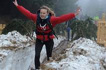 Krušnohorští sherpové zahájili nové desetiletí v mrazu a dešti