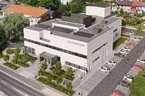Takto bude vypadat nové multifunkční kulturní centrum v Klášterci nad Ohří
